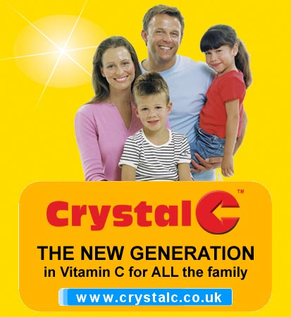 Crystal C - The New Generation in Vitamin C for All the Family - www.crystalc.co.uk